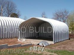 Durospan Acier Kit De Construction En Métal 20x40x12 Carport Hangar Ouvert Extrémités D'extrémités Direct