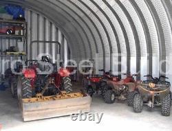 Durospan Acier S40'x52'x16' Barn En Métal Bricolage Farm Shed Building Kit Usine Direct
