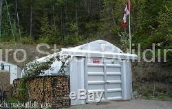 Durospan Construction Métallique En Acier 12'x24'x10' Kit Back Yard Atelier Factory Direct