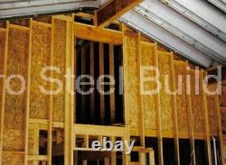 Durospan Steel 16x30x12 Metal Building Storage Sheds Diy Kits Open Ends Direct