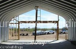 Durospan Steel 20'x36'x16' Metal Building Diy Kit Made To Order Open Ends Direct