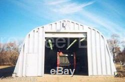 Durospan Steel 20x22x12 Metal Garage Shop Kit De Construction Domiciliaire Bricolage Usine Direct