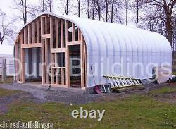 Durospan Steel 20x40x16 Metal Building Diy At Home Kits Open Ends Factory Direct