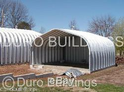 Durospan Steel 20x44x16 Bâtiments Métalliques Kits De Garage Pour Bricolage À Extrémité Ouverte Usine Direct