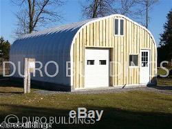 Durospan Steel 25x24x12 Carport En Métal Bâtiment Garage Ouvert Extrémités Ouvertes Factory Direct