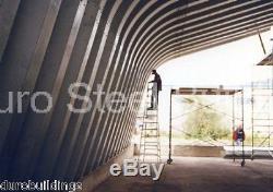 Durospan Steel 25x40x12 Kit Carport Pour Arceau Métallique
