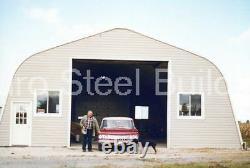 Durospan Steel 25x50x12 Metal Building Home Shop Diy Open Ends Factory Direct