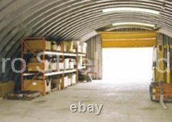 Durospan Steel 27x30x13 Metal Man Cave Diy Building Kit Open Ends Factory Direct