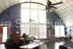 Durospan Steel 30'x33'x14' Metal Quonset Diy Kit De Construction Maison À Bouts Ouverts Direct