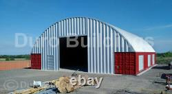 Durospan Steel 30x20x8 Metal Building Shipping Container Cover Open Ends Direct