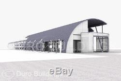 Durospan Steel 30x32x14 Quonset Grille Kit De Construction Ouverte En Acier