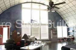 Durospan Steel 30x36x14 Maison En Métal Maison De Bricolage Kit De Construction De Grange Aux Extrémités Ouvertes Direct