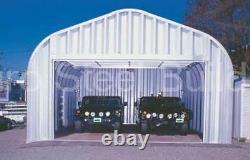 Durospan Steel 30x37x14 Metal Building Garage Shop Kit Structure Factory Direct