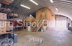 Durospan Steel 32'x30x17' Metal Garage Shop Diy Home Building Kit Factory Direct