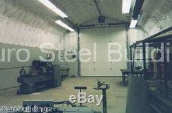Durospan Steel 35x40x16 Kit De Garage En Métal Pour Atelier