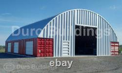 Durospan Steel 40x40x12 Métal Building Shipping Container Cover Open Ends Direct