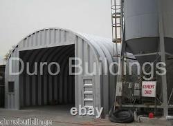 Durospan Steel 40x40x16 Metal Building Kit Farm Shed Atelier Diy Factory Direct