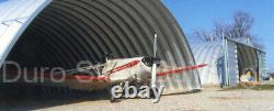 Durospan Steel 42'x24'x17' Kit De Construction En Métal Fabriqué Pour Commander Bricolage À Bouts Ouverts Direct
