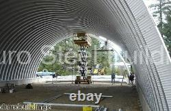 Durospan Steel 44x50x14 Metal Quonset Diy Building Kit Open Ends Factory Direct