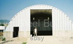 Durospan Steel 51x100x17 Metal Quonset Home Building Kit Par Order Factory Direct