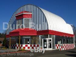 Durospan Steel 51x40x17 Metal Building Kit De Toit Sur Mesure Pour Bricolage Aux Extrémités Ouvertes Direct