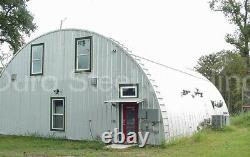 Durospan Steel 51x40x17 Metal Quonset Hut Building Diy Home Kit Open Ends Direct