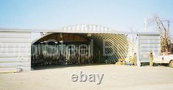 Durospan Steel 60x60x20 Metal Diy Quonset Hangar Storage Building Kit Direct