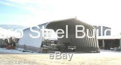 Durospan Steel A-20x20x12 Garage À Voûte En Métal Kit De Construction Domiciliaire Bricolage Usine Direct