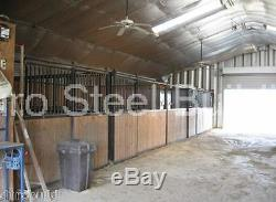 Durospan Steel Bâtiments Muraux À Voûte En Métal, Voûte En Métal 25x46x14