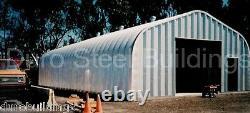Durospan Steel Gp25x32x16 Metal Building Kit Diy Residential Garage Shop Direct