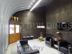 Durospan Steel Q42x72x17 Maison En Métal Kit De Construction Pour Maison En Voûte Bricolage À Extrémité Ouverte DI Fins