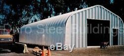 Durospan Steel Usine De Stockage De Bateaux Et De Véhicules De Camping-car En Acier 20x40x16 En Métal