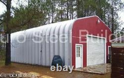 Dursospan Steel 25x42x13 Métal Garage Home Kits De Construction Ouverts Fin