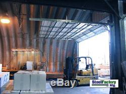 En Acier Usine S45x50x17 En Métal De Stockage De Bâtiment En Métal Livré Directement Kit Préfabriqué