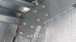 Galvanisé Acier Isolé 4-car Garage Metal Building Boutique Kit