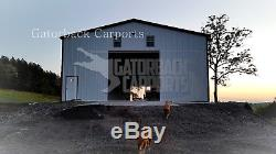 Garage En Acier En Acier Atelier De Construction Grange Remise