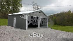 Garage En Métal, Bâtiment En Acier, 20x21 Livraison Et Installation Gratuites