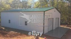 Garage En Métal, Bâtiment En Acier, Livraison Et Installation Gratuite 20x21 À L'échange