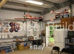 Grange Metal Durobeam Acier 40'x72'x12' Accueil Garage Effacer Span Kit De Construction Direct