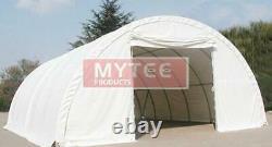 Hay Storage Building Shelter 22oz Tent Barn 30' X 65' Hd Galvanized Steel