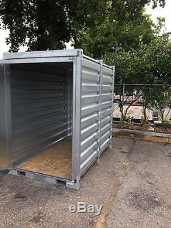 Insta-pod, Conteneur De Stockage Portable, Hangar Métallique, Cabanon À Outils, Bâtiment En Acier