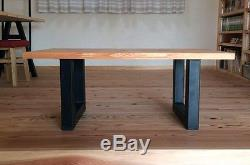 Jambes De Table En Métal, Construisez Votre Propre Table Avec Ces Jambes, Les Résultats Vous Feront