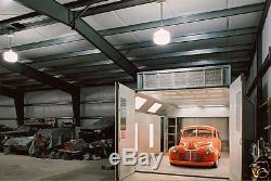 Kit De Construction De Garage Du Cadre 40x50x12 De L'i-poutre Préfabriquée En Métal De Grange De L'usine D'acier