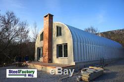 Kit De Construction De Garage Préfabriqué En Métal