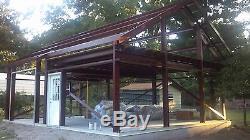Kit De Construction Garage / Atelier En Acier 36'x45'x12 'excel Metal Building Systems Inc