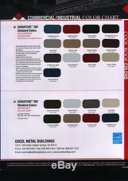 Kit De Construction Pour Garage / Atelier En Acier De 25'x25'x10 'excel Metal Building Systems Inc