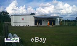 Kit De Matériau De Construction De Garage Ibeam De Grange En Acier Préfabriquée En Acier 30x60x14 D'i-beam