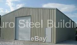 Les Kits De Construction En Métal De L'acier 40x40x14 De Durobeam Résidentiels Automatiques Garent Le Garage
