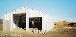 Magasin De Garage De Bâtiment En Métal De L'acier 25x30x12 De Durospan Comme Vu À L'usine De Tv Direct