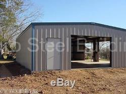 Matériau De Stockage Du Bâtiment De Garage En Acier Durobeam 40x60x16 En Métal, Structures Direct